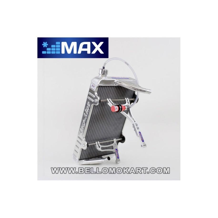 radiatore new line RS MAX con attacchi