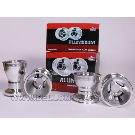 Set 4 cerchi Douglas ALV alluminio 130-180 (pioggia)