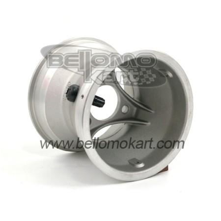 Cerchio con flangia  H. 125 Alluminio
