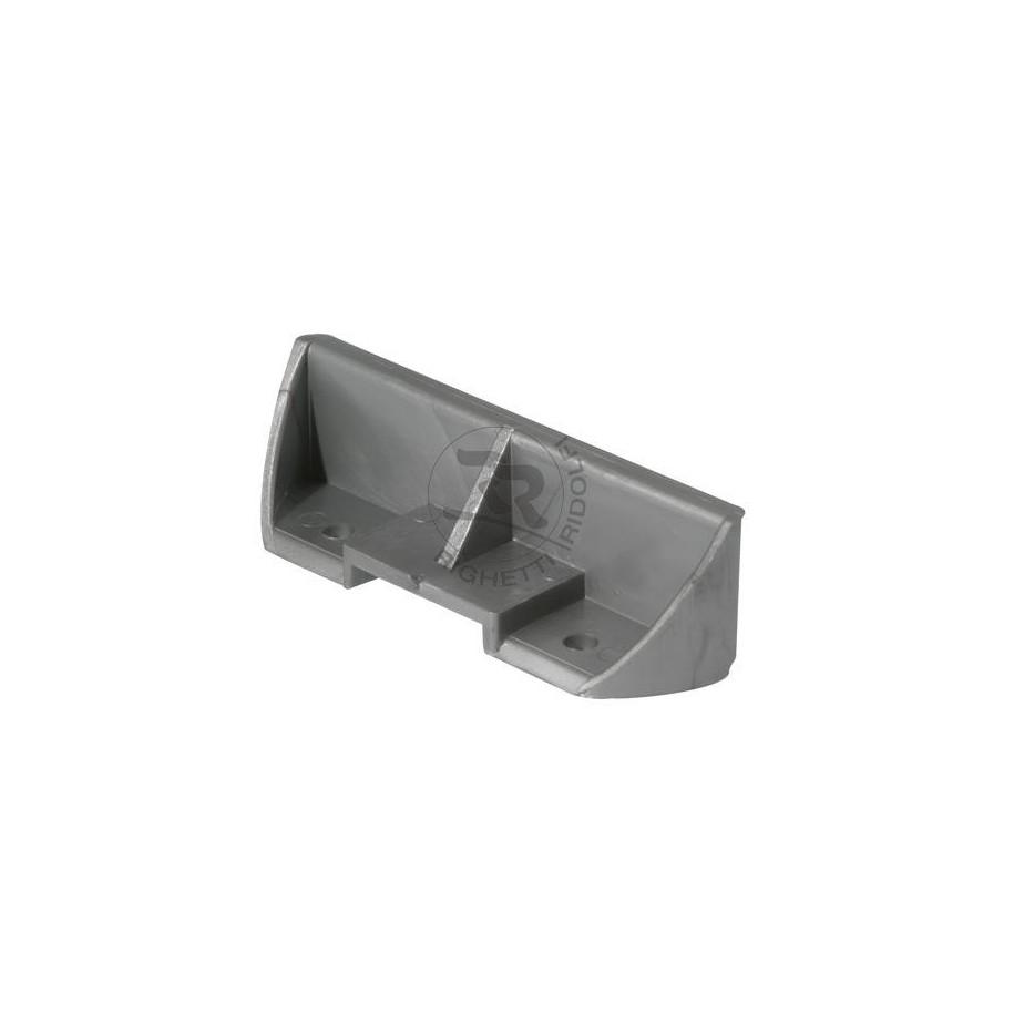 Poggiapiedi standard argento