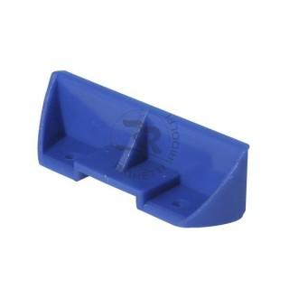 Poggiapiedi standard blu