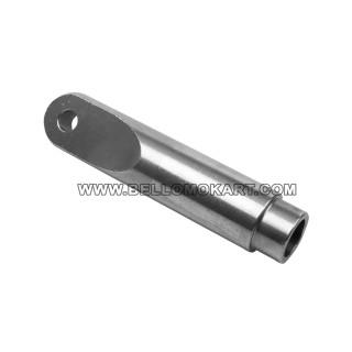 supporto alluminio silenziatore freeline