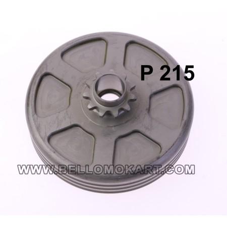 campana frizione + pignone z 11 P 215 tm 60 mini