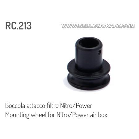 O.R. tromboncino aspirazione filtro nitro/power