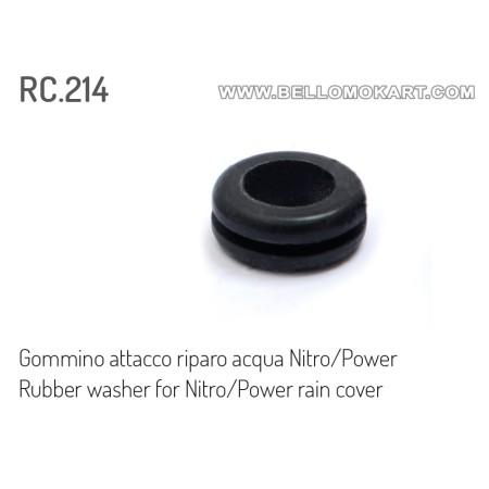 gommino attacco coprifiltro pioggia nitro/power