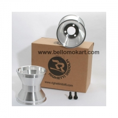 Set 2 cerchi alluminio 145 mm