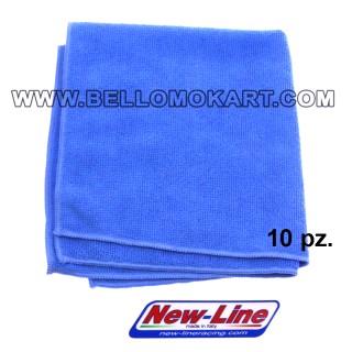 panno microfibra new-line pulizia telaio, casco ecc. (10 pz)