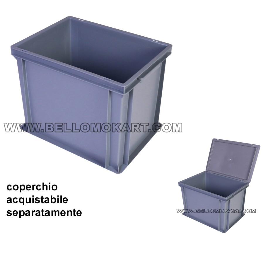 cassa contenitore sovrapponibile 40x30x12