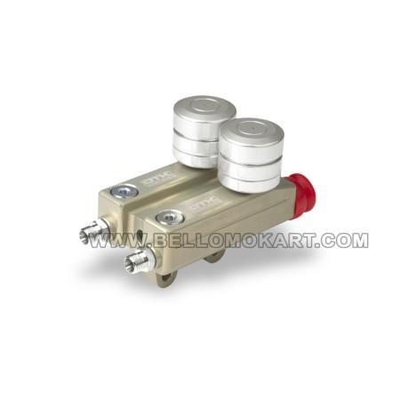 Doppia pompa freni SA2-SA3-BSS-BSD  OTK tonykart per KZ