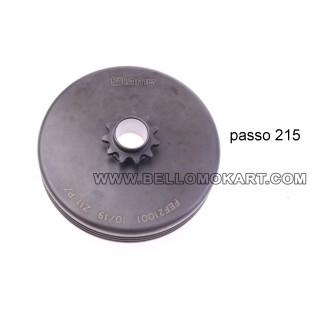 Campana frizione Z11 passo 215 IAME MINI GR-3  040/EM/12
