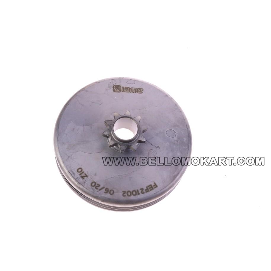Campana frizione Z10 passo 219 IAME MINI GR-3  040/EM/12
