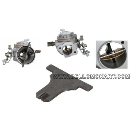 Dima regolazione farfalla carburatore IAME X30 tag 125